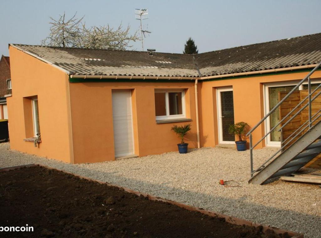 Location particulier à particulier, maison, de 73m² à Courcelles-lès-Lens