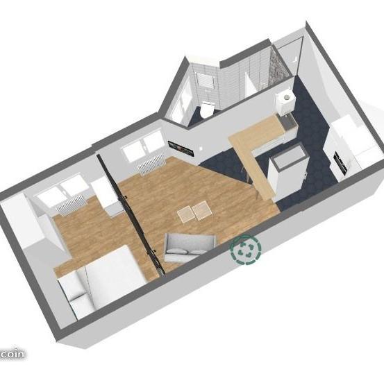 Location particulier à particulier, appartement, de 30m² à Clichy