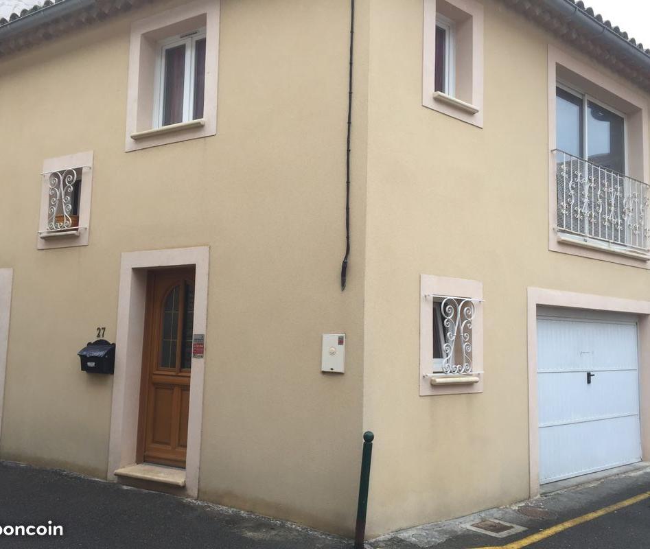 De particulier à particulier Caderousse, appartement maison de 75m²