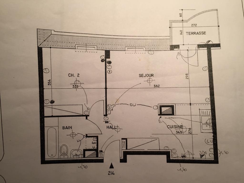 Appartement particulier à Lingolsheim, %type de 48m²