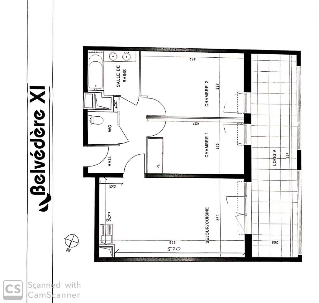 Particulier location Marseille 11, appartement, de 60m²