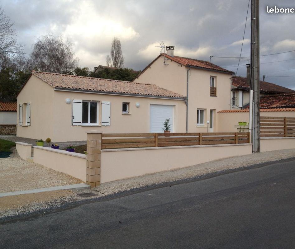 De particulier à particulier Rancogne, appartement maison de 130m²