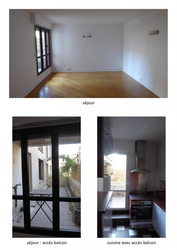 Location appartement entre particulier Paris 15, appartement de 47m²