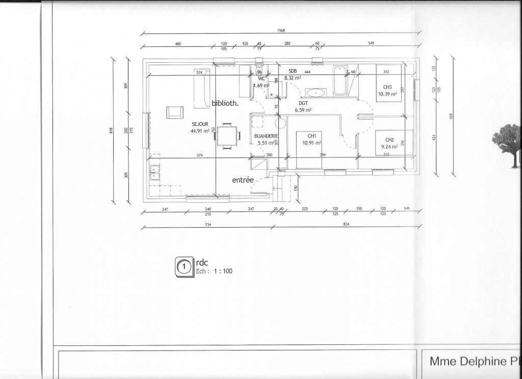 Location appartement entre particulier Tavel, maison de 97m²