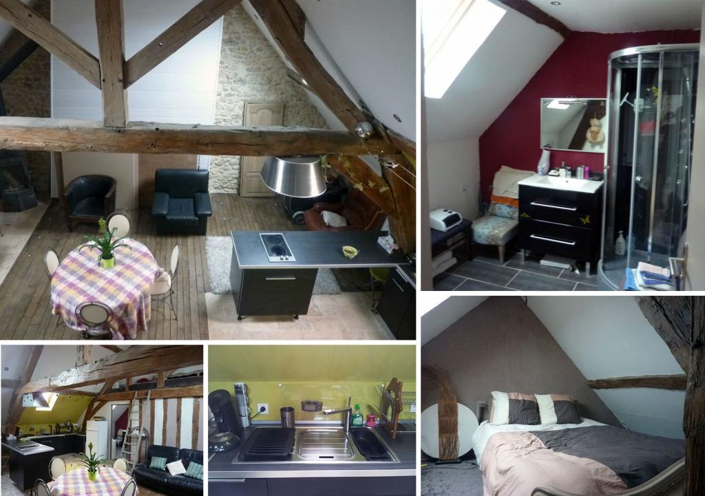 Appartement particulier à Ballainvilliers, %type de 55m²