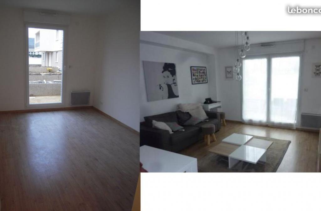 Location particulier Belbeuf, appartement, de 44m²