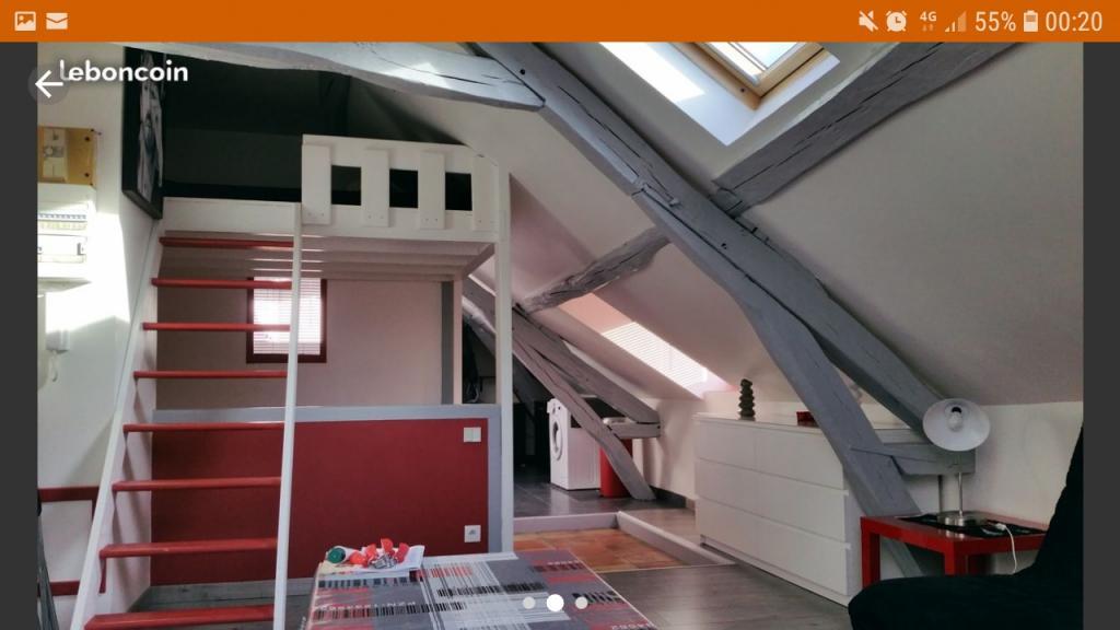 De particulier à particulier Hodent, appartement studio, 23m²
