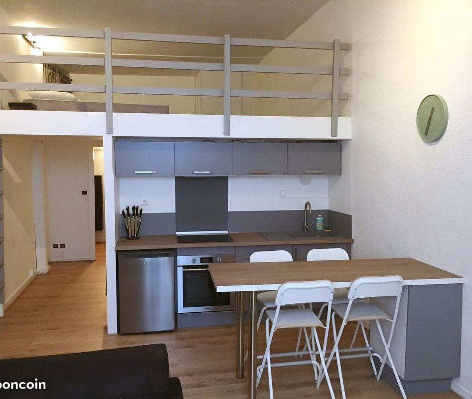Location de particulier à particulier à Bordeaux, appartement appartement de 37m²