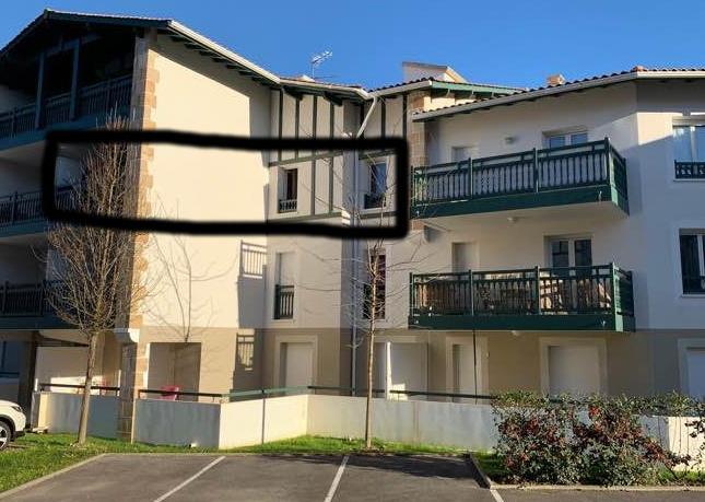 Entre particulier , appartement, de 57m² à Arcangues