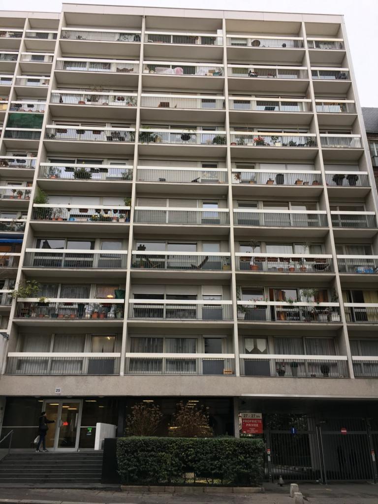 Location appartement entre particulier Paris 18, de 29m² pour ce studio