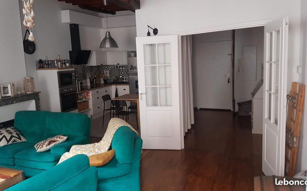 De particulier à particulier, appartement à Serpaize, 55m²