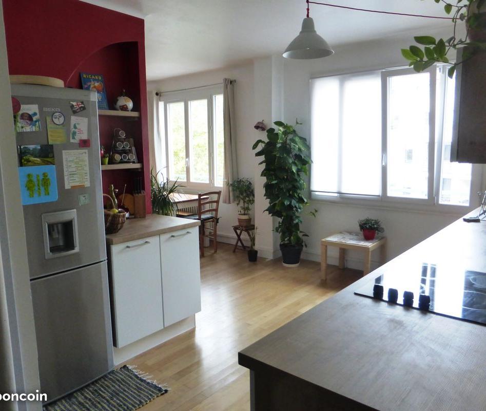 Location de particulier à particulier, appartement, de 65m² à Lyon 03