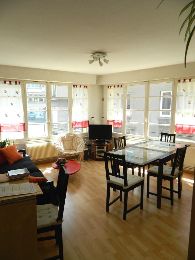 Appartement particulier à Boulogne-sur-Mer, %type de 59m²