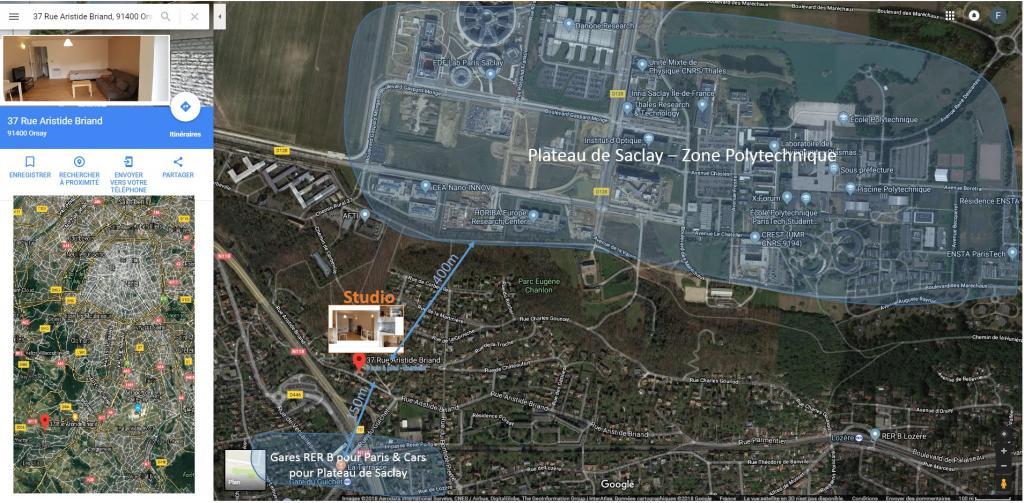 De particulier à particulier Gometz-la-Ville, appartement studio de 32m²