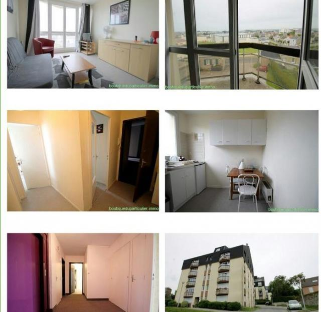 Location appartement T1 Equeurdreville Hainneville - Photo 1