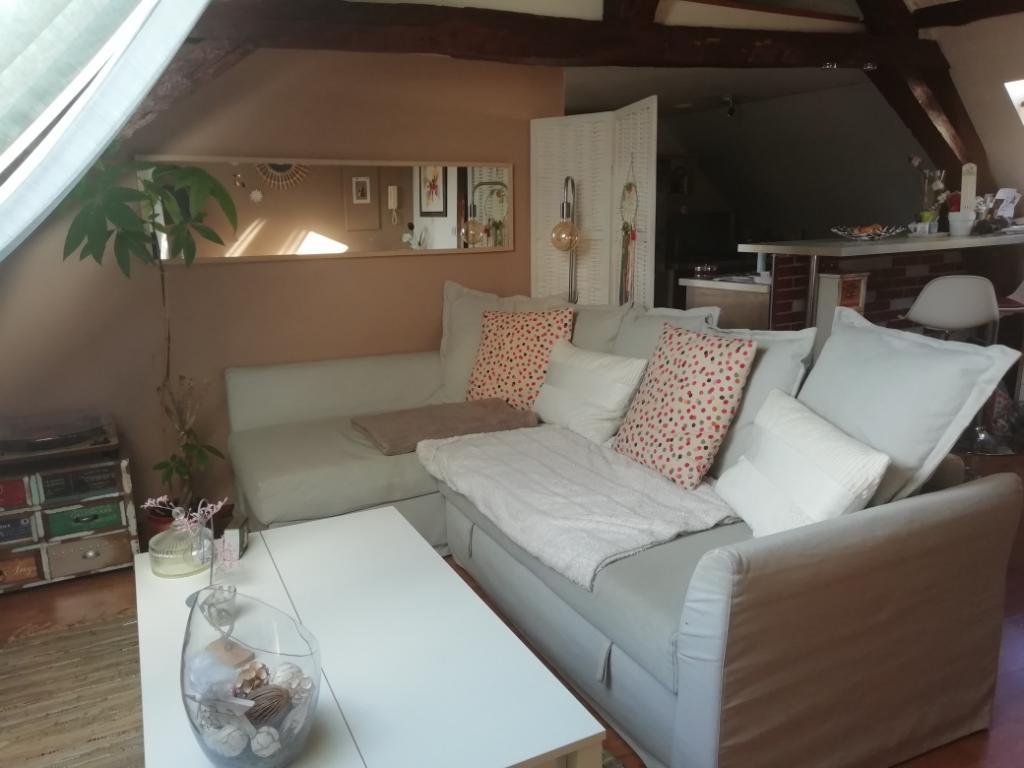 Location appartement entre particulier Oinville-sur-Montcient, appartement de 42m²