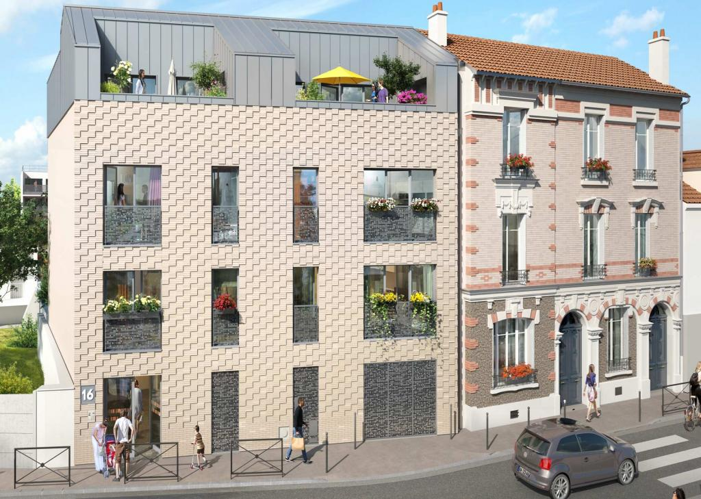 Appartement particulier, studio, de 30m² à Aubervilliers