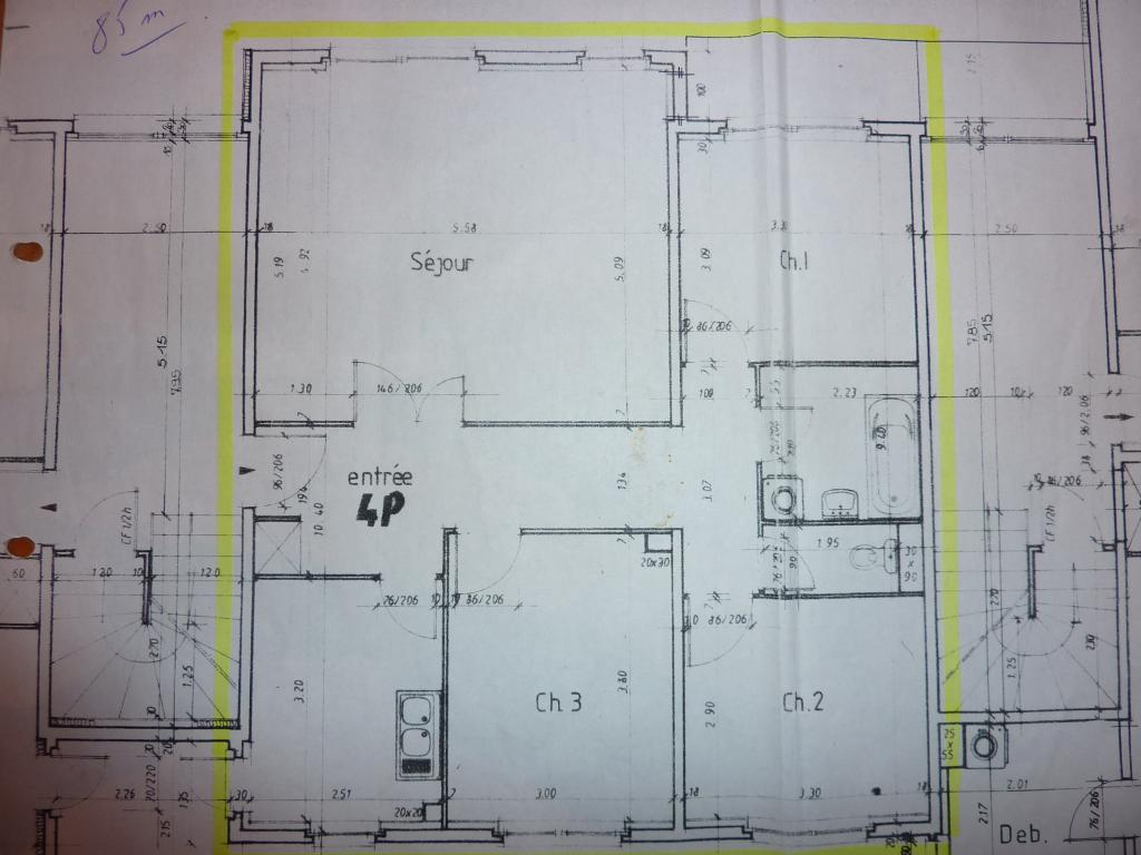 De particulier à particulier, appartement, de 85m² à Lichtenberg