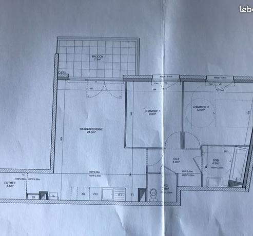 De particulier à particulier , appartement, de 60m² à Écully