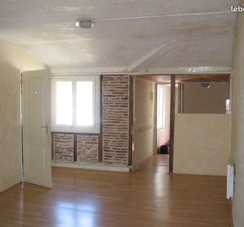 Particulier location, appartement, de 55m² à Burlats